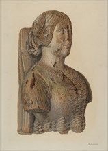 Figurehead, 1935/1942. Creator: Nicholas Amantea.