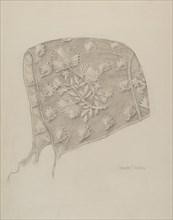 Infant's Cap, 1935/1942. Creator: Grace Halpin.