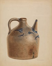 Water Jug, 1935/1942. Creator: Nicholas Amantea.