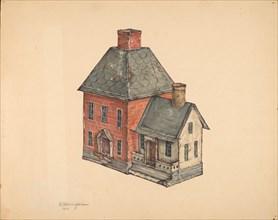 Toy House, 1937. Creator: Nicholas Acampora.
