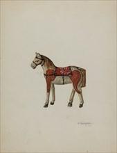 Toy Shetland Pony, 1939. Creator: Nicholas Acampora.