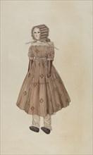 Doll, 1940. Creator: Charles Goodwin.