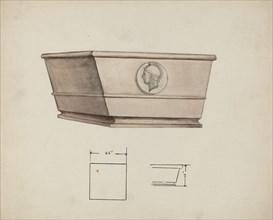 Urn Design, c. 1940. Creator: Charles Goodwin.