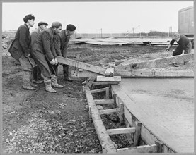 Coryton Oil Refinery, Thurrock, Essex, 07/12/1951. Creator: John Laing plc.