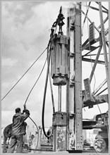 Coryton Oil Refinery, Thurrock, Essex, 30/08/1951. Creator: John Laing plc.
