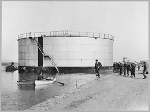 Coryton Oil Refinery, Thurrock, Essex, 23/04/1951. Creator: John Laing plc.
