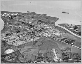 Coryton Oil Refinery, Thurrock, Essex, 06/08/1952. Creator: John Laing plc.