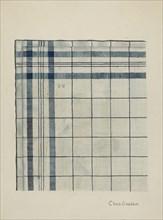 Shaker Kerchief, c. 1937. Creator: Charles Goodwin.