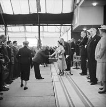 Ceremonial opening of Coryton Oil Refinery, Thurrock, Essex, 27/05/1954. Creator: John Laing plc.