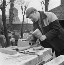 Carlisle Cathedral, Carlisle, Cumbria, 07/03/1967. Creator: John Laing plc.