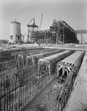 Grain Power Station, Grain, Isle of Grain, Medway, 07/09/1973. Creator: John Laing plc.