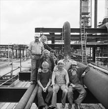 Coryton Oil Refinery, Thurrock, Essex, 04/08/1980. Creator: John Laing plc.