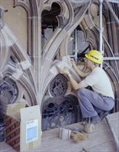 Carlisle Cathedral, Carlisle, Cumbria, 19/07/1983. Creator: John Laing plc.