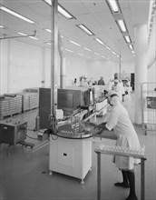 Napp Laboratories, Milton Road, Cambridge Science Park, Milton, Cambridgeshire, 06/09/1983. Creator: John Laing plc.
