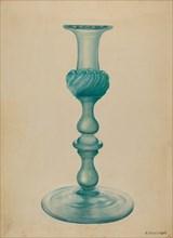 Candlestick, c. 1936. Creator: Nicholas Amantea.