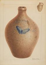Jar, c. 1937. Creator: Nicholas Amantea.