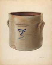 Crock, c. 1938. Creator: Nicholas Amantea.