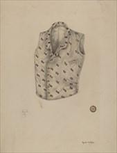 Waistcoat, c. 1938. Creator: Grace Halpin.