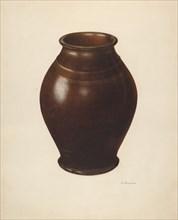 Jar, c. 1938. Creator: Nicholas Amantea.