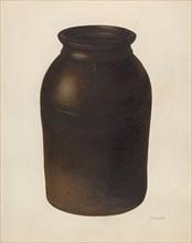 Jar, c. 1939. Creator: Nicholas Amantea.