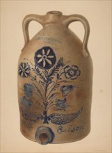 Water or Cider Jug, c. 1939. Creator: Nicholas Amantea.