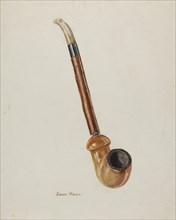Pipe, c. 1940. Creator: John Hall.