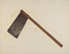 Chopping Knife, c. 1941. Creator: Nicholas Amantea.