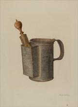 Shaving Mug, c. 1941. Creator: Nicholas Amantea.