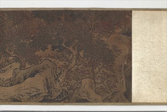 Conversing Beside the Hao River, Ming dynasty, 16th century. Creator: Unknown.