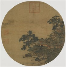 Pure Sanctuary with Pine Grown Stairs, Ming dynasty, 15th-16th century. Creator: Unknown.