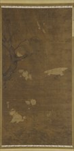 Birds, Willow Tree, and Flowers, Ming dynasty, 15th-16th century. Creator: Unknown.