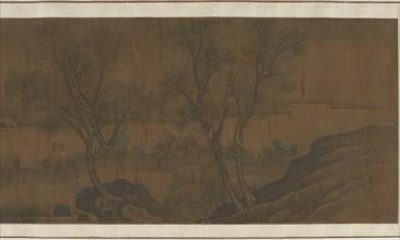 Herding Water Buffalo, Ming dynasty, 16th-17th century. Creator: Unknown.
