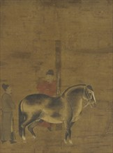 Evaluating a Horse, Ming dynasty, 1368-1644. Creator: Unknown.
