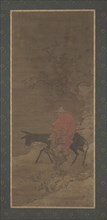 Riding Through Snow in Search of Plum Blossoms, Ming or Qing dynasty, 17th century. Creator: Unknown.