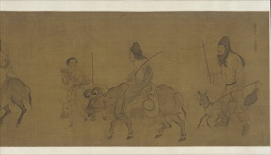 Returning Home after Harvest, Possibly Ming dynasty, (17th century?). Creator: Unknown.