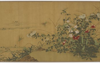 Flowers, Plants, and Insects, Ming dynasty, 16th century. Creator: Unknown.