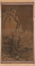 Winter Trees and Snowy Peaks, Ming dynasty, 17th century. Creator: Unknown.