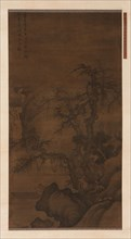 Fisherman Boating under Winter Trees, Ming dynasty, (15th century?). Creator: Unknown.