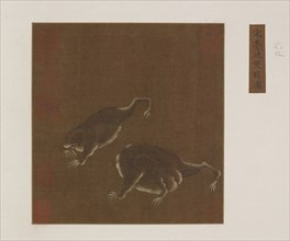 A Pair of Three-legged Toads, Ming dynasty, 1368-1644. Creator: Unknown.