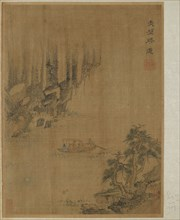 Boating to Red Cliff, Possibly Ming dynasty, 1368-1644. Creator: Unknown.