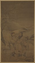 The Tearful Parting of Su Wu and Li Ling, Ming dynasty, 16th century. Creator: Unknown.