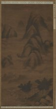 Verdant Peaks in Clouds, Ming dynasty, (16th century?). Creator: Unknown.