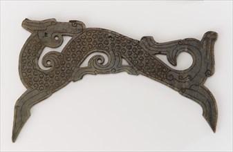 Ornamental plaque, Eastern Zhou dynasty, 3rd century BCE. Creator: Unknown.
