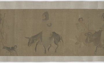 Returning Home after Harvest, Yuan or Ming dynasty, 14th-15th century. Creator: Unknown.