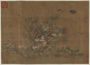 Flowers and insects, Ming dynasty, (15th century?). Creator: Unknown.