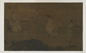 Zhongli Quan Seeking the Dao, Ming dynasty, 15th century. Creator: Unknown.