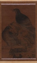 Two Eagles, Ming dynasty, 1368-1644. Creator: Unknown.