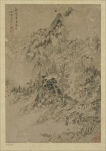 Mountain village, Ming dynasty, 1550-1644. Creator: Unknown.