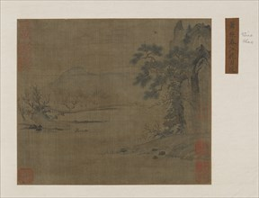 Pavilion on the spring river, Ming or Qing dynasty, 16th-19th century. Creator: Unknown.