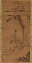 The Immortal Ma Gu with a Deer, Qing dynasty, 18th century. Creator: Unknown.